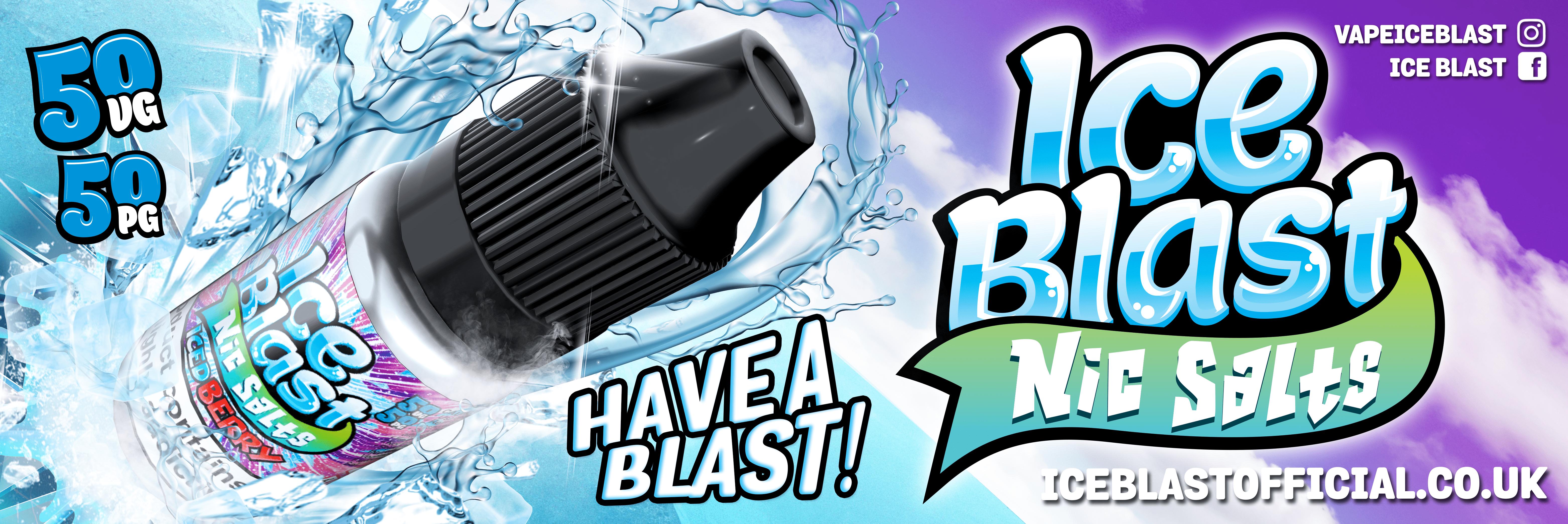 Ice Blast Nic Salts
