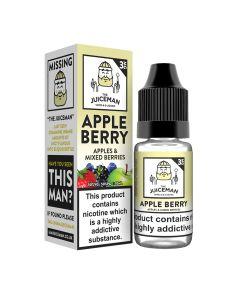 The Juiceman TPD Apple Berry 10ml eliquid
