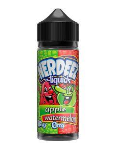 Nerdeez Apple Watermelon 120ml eliquid