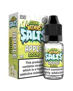 Sour Shockers Salts Apple 10ml eliquid