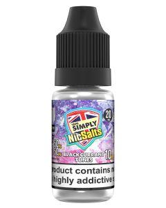 Vape Simply Salts Blackcurrant Tunes 10ml eliquid