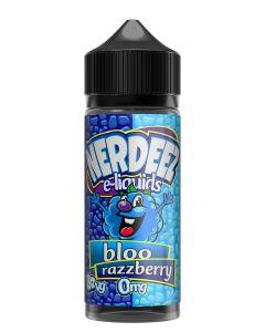 Nerdeez Blue Raspberry 120ml eliquid