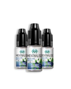 Blueberry Menthol Menthalise 3 x 10ml