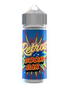Retros Boom Bar 120ml eliquid