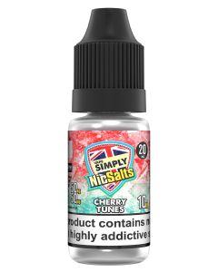 Vape Simply Salts Cherry Tunes 10ml eliquid