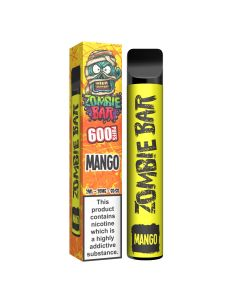 Zombie Blood Bar disposable e-cig for vapers Mango flavour