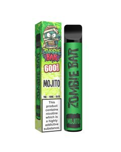 Zombie Bar e-cig disposable 600 puffs