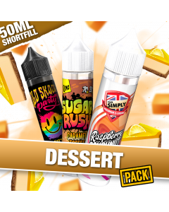 3 x 60ml Dessert E-liquid bundle