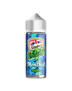 Vape Simply CBD e-liquid - Menthol