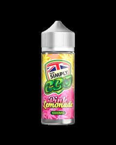 Vape Simply CBD e-liquid - Pink Lemonade