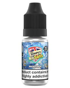Vape Simply Salts Menthol 10ml eliquid