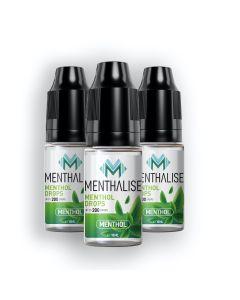 Menthalise Menthol Drops 3 x 10ml
