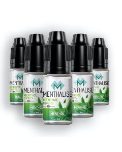 Menthalise Menthol Drops 5 x 10ml bottles