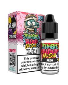 Zombie Blood Salts Mr Pink 10ml eliquid