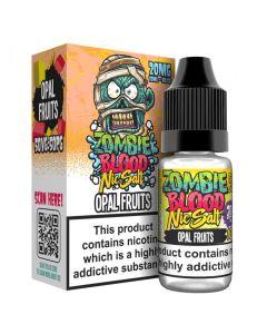 Zombie Blood Nic Salts Opal Fruits E-liqud