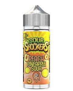 Sour Shockers Peach Pineapple 120ml eliquid
