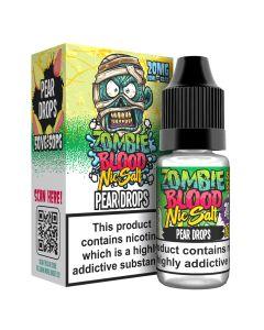 Zombie Blood Nic Salts Pear Drops E-liquid
