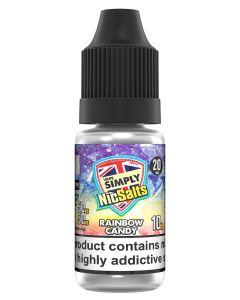 Vape Simply Salts Rainbow Candy 10ml eliquid