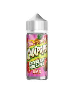 Calipops Raspberry Pineapple 120ml eliquid