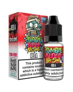 Zombie Blood Nic Salts Red A e-liquid