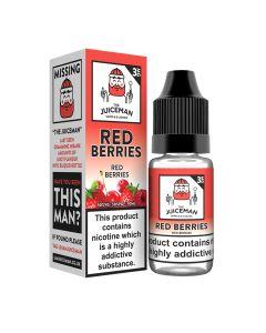 The Juiceman TPD Red Berries 10ml eliquid