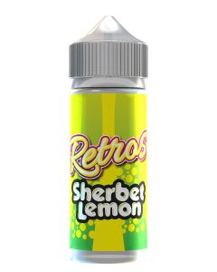 Retros Sherbet Lemon 120ml eliquid