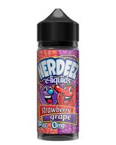 Nerdeez Strawberry Grape 120ml eliquid