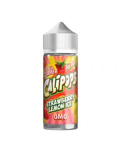 Calipops Strawberry Lemon Ice 120ml eliquid