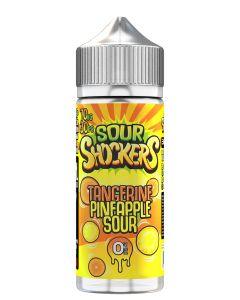 Sour Shockers Tangerine Pineapple Sour 120ml eliquid