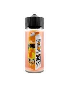 The Juiceman Sour Tropical Tanger 120ml eliquid