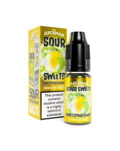 The Juiceman Sour Salts Sour Citrus Smash 10ml eliquid