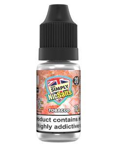 Vape Simply Salts Tobacco 10ml eliquid