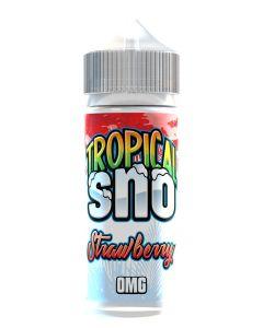 Tropical Sno Strawberry 120ml eliquid