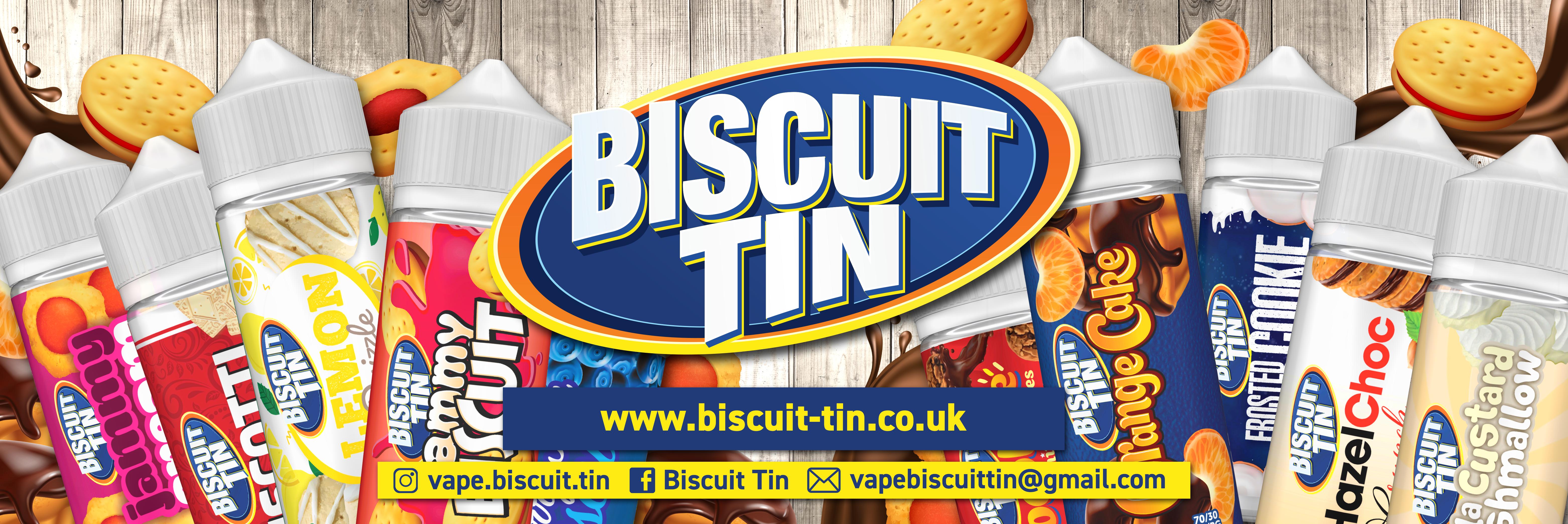 Biscuit Tin E-liquid