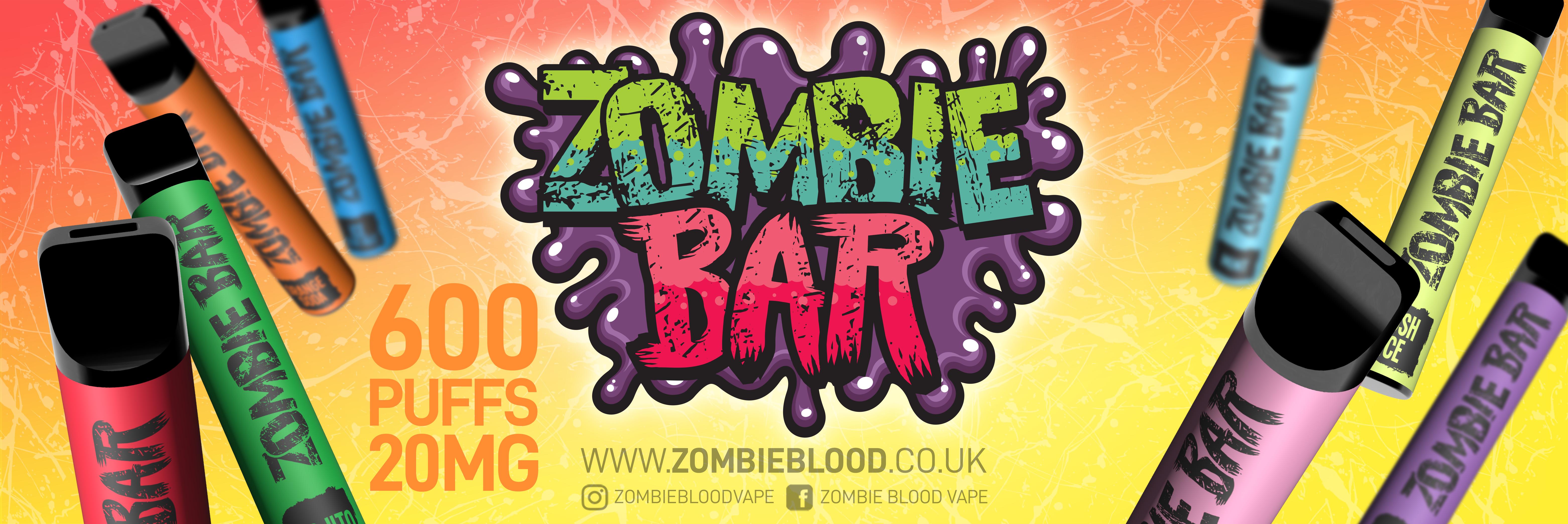 Zombie Bar Disposable E-Cig