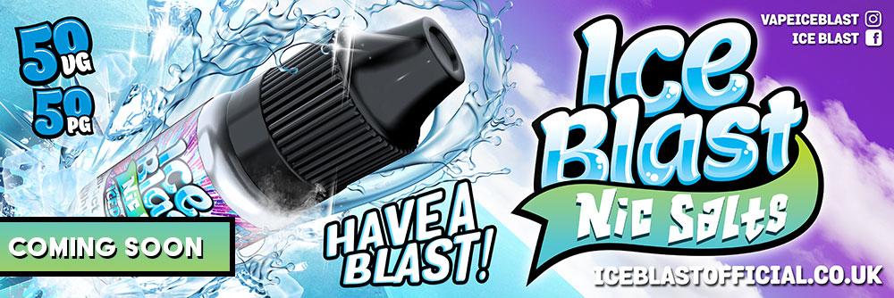 Ice Blast Nic Salts E-liquid