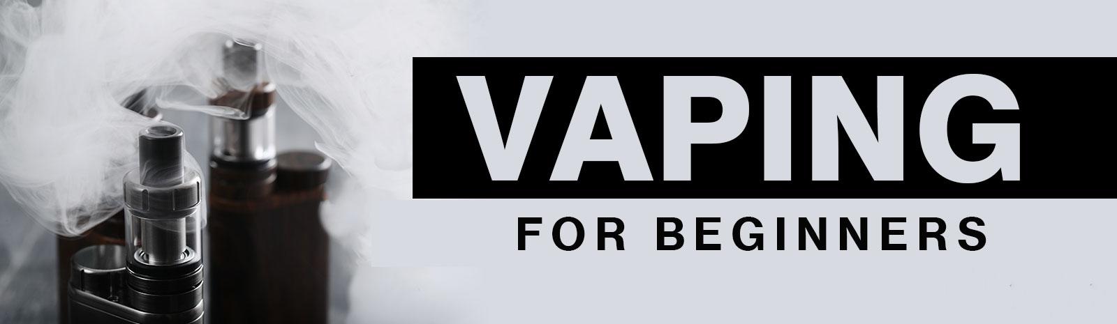 Ecig banner for new vapers
